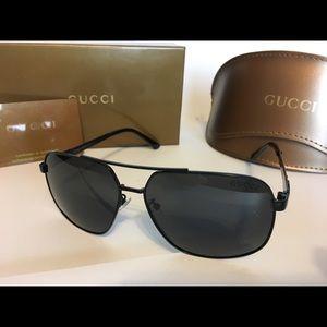 Men's Gucci sunglasses wide lens